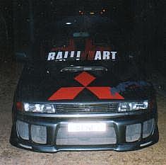 Mitsubishi Lancer - 1990 Hot Wheels Image-2