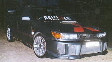Mitsubishi Lancer - 1990 Hot Wheels Image-3