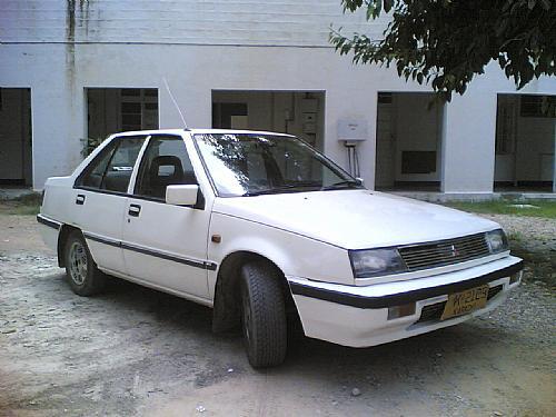 Mitsubishi Lancer - 1988 2nd Ride - White Ghost Image-1
