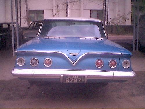 Chevrolet Exclusive - 1961 Blue Bubble-Impala 1961 Image-1