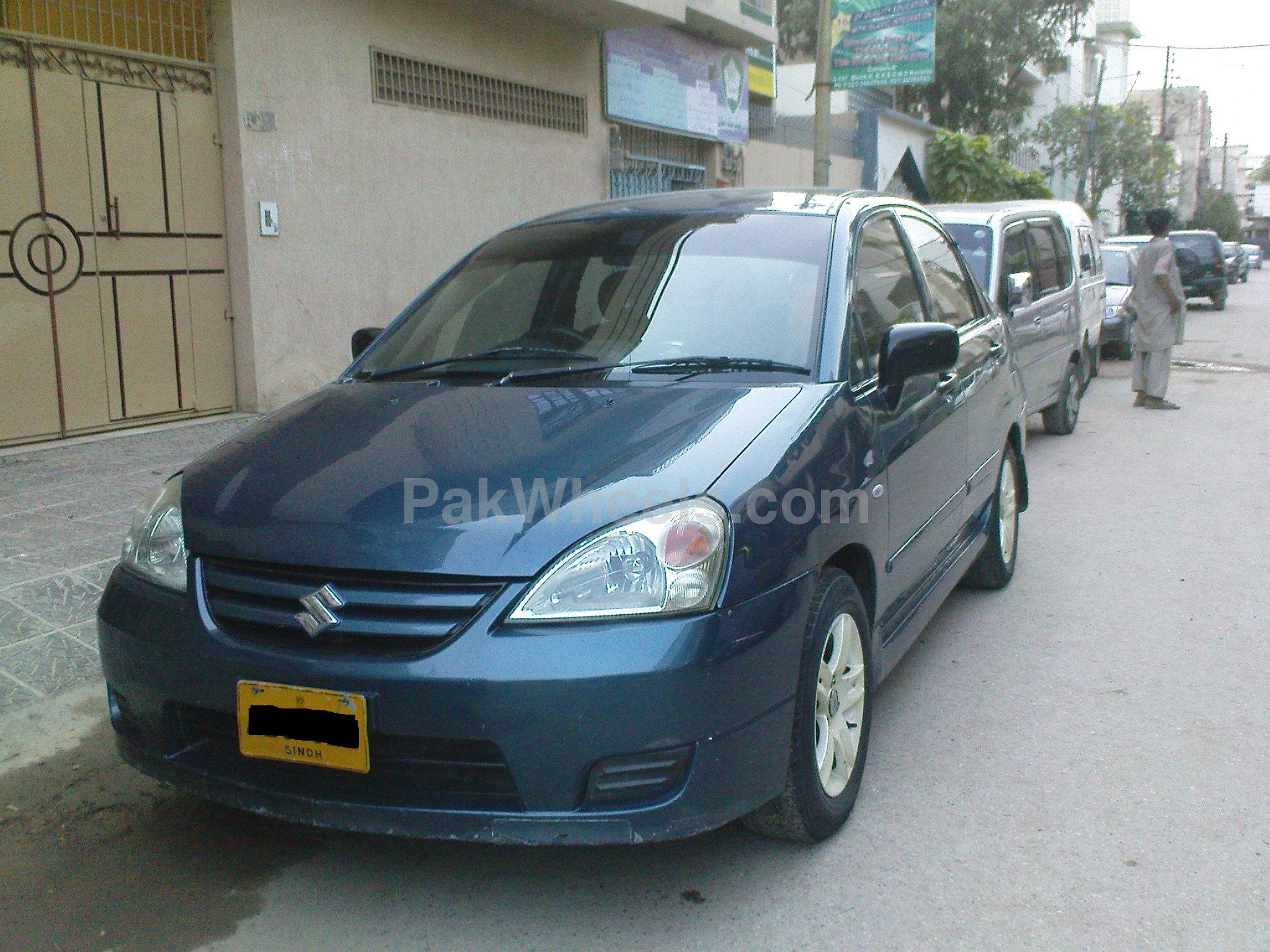 suzuki liana rxi 2006 for sale in karachi pakwheels. Black Bedroom Furniture Sets. Home Design Ideas