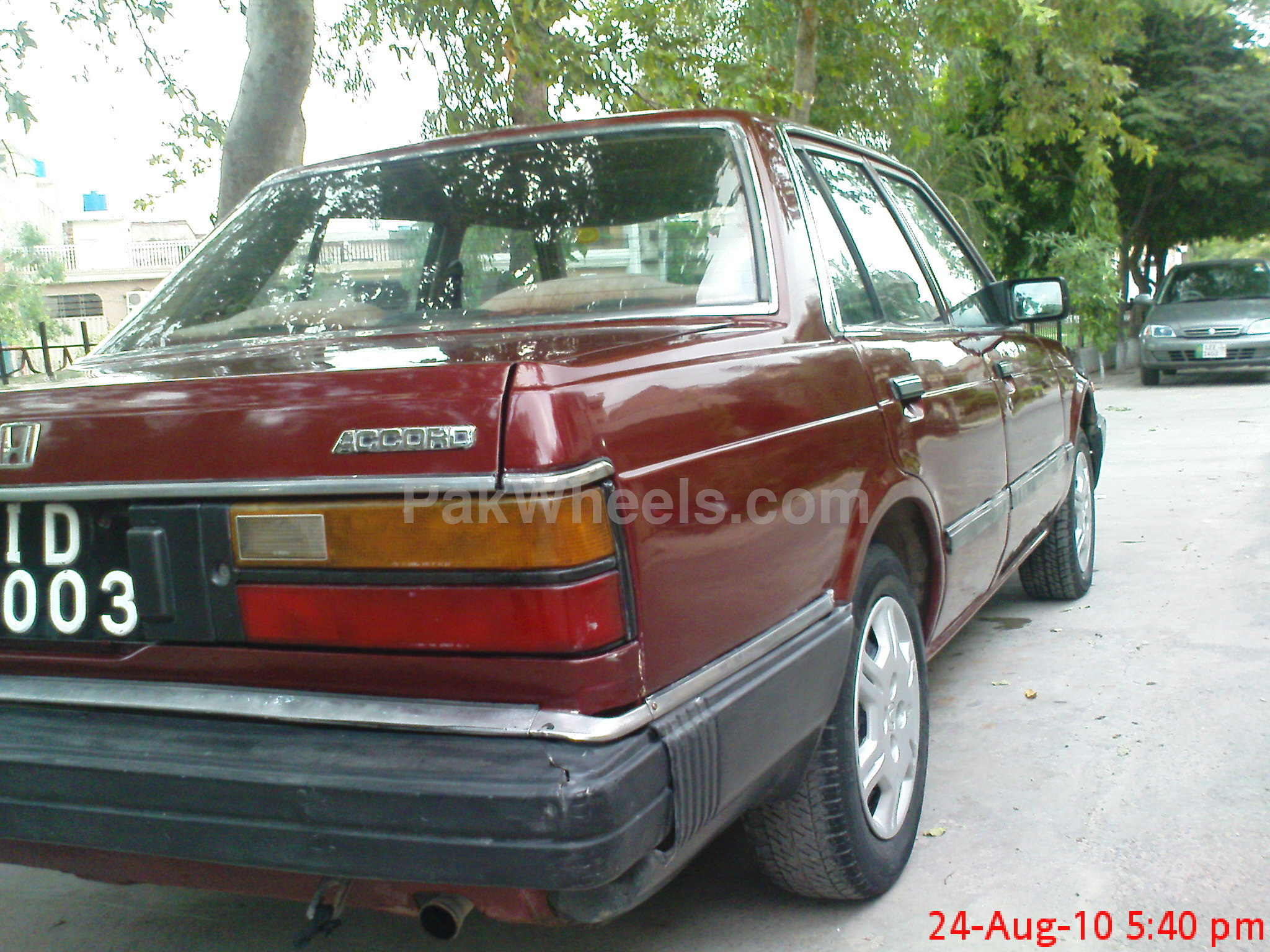 used honda accord 1982 car for sale in lahore 143216. Black Bedroom Furniture Sets. Home Design Ideas