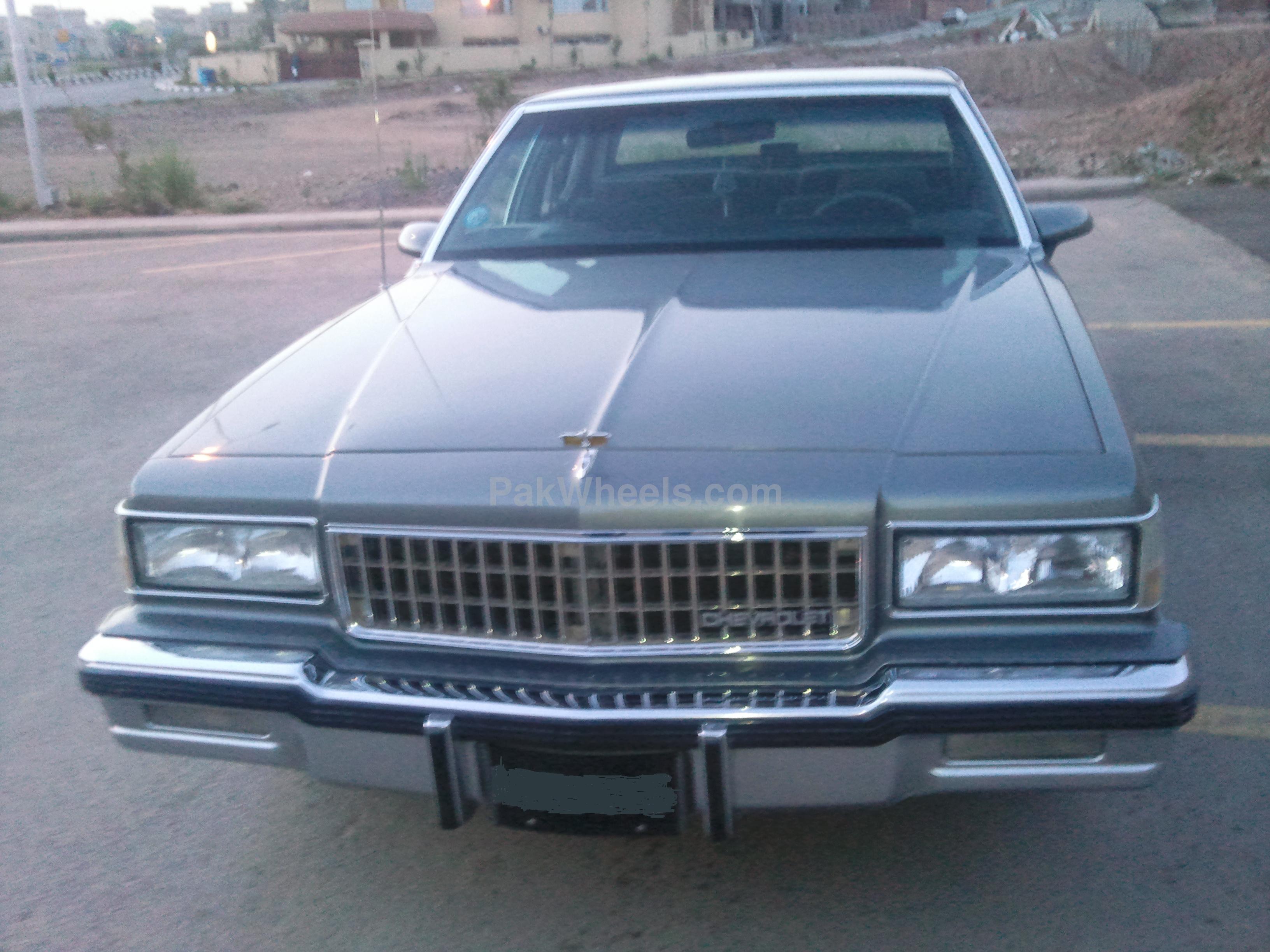 Chevrolet Caprice - 1988  ws Image-1