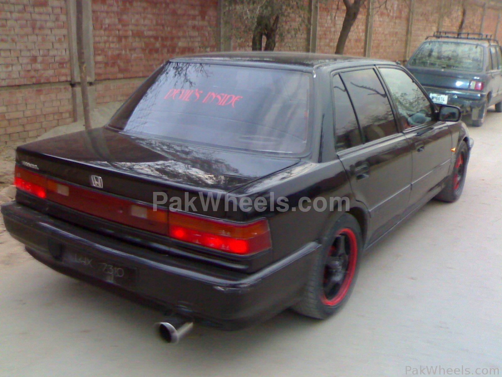 Honda civic 1988 of devil inside member ride 13208 for Honda civic 1988