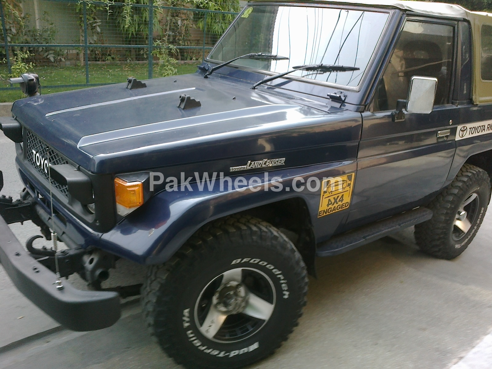 toyota land cruiser gx 1986 for sale in lahore