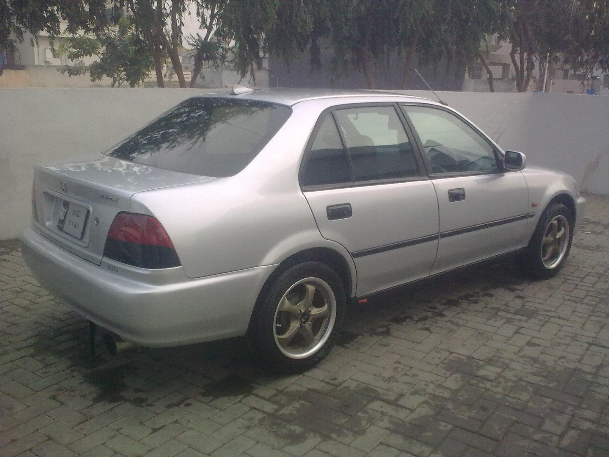 Honda City 2001 of danishali01 - Member Ride 14853 | PakWheels