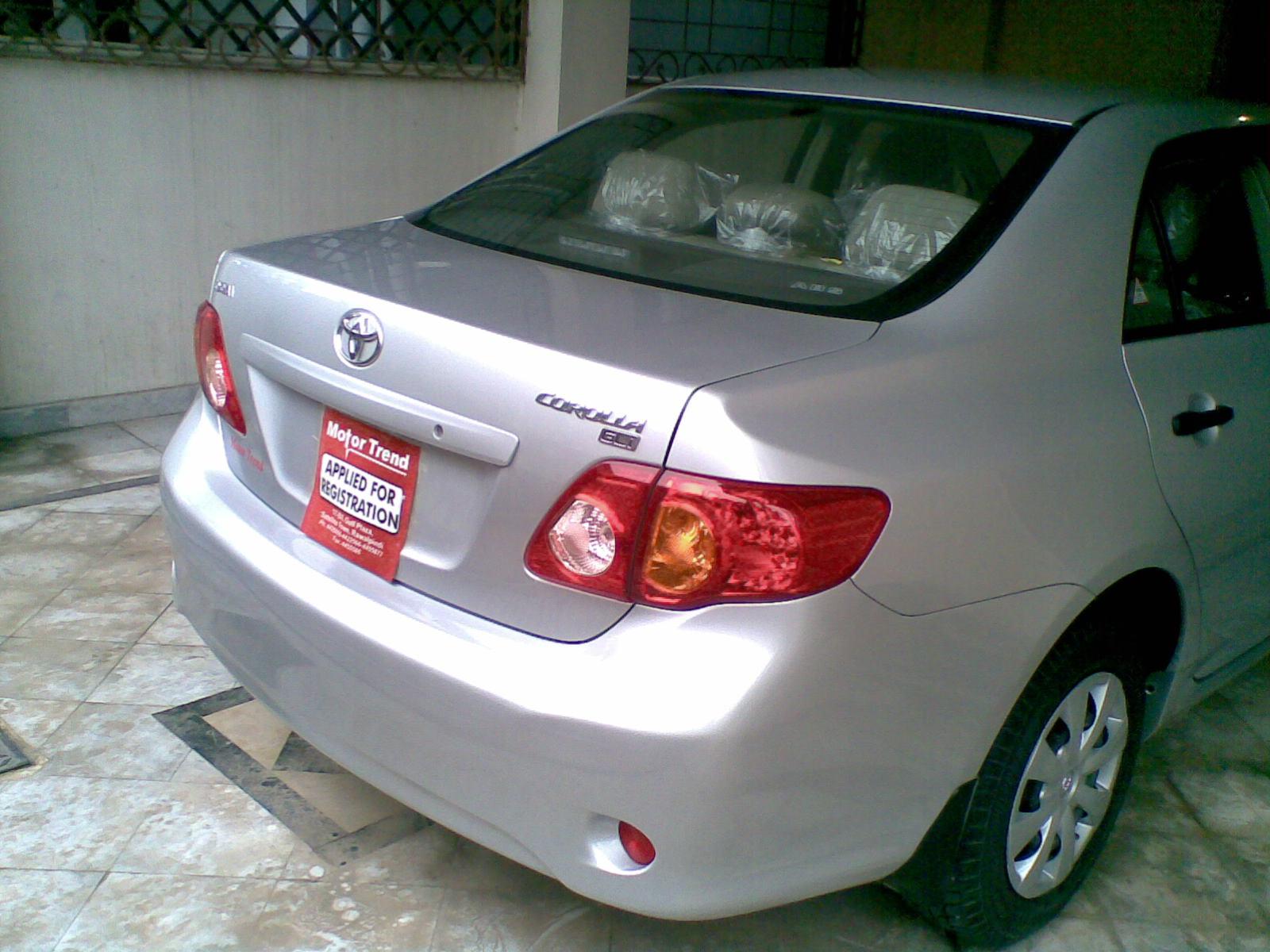 Toyota Corolla - 2010 umfa2 Image-3