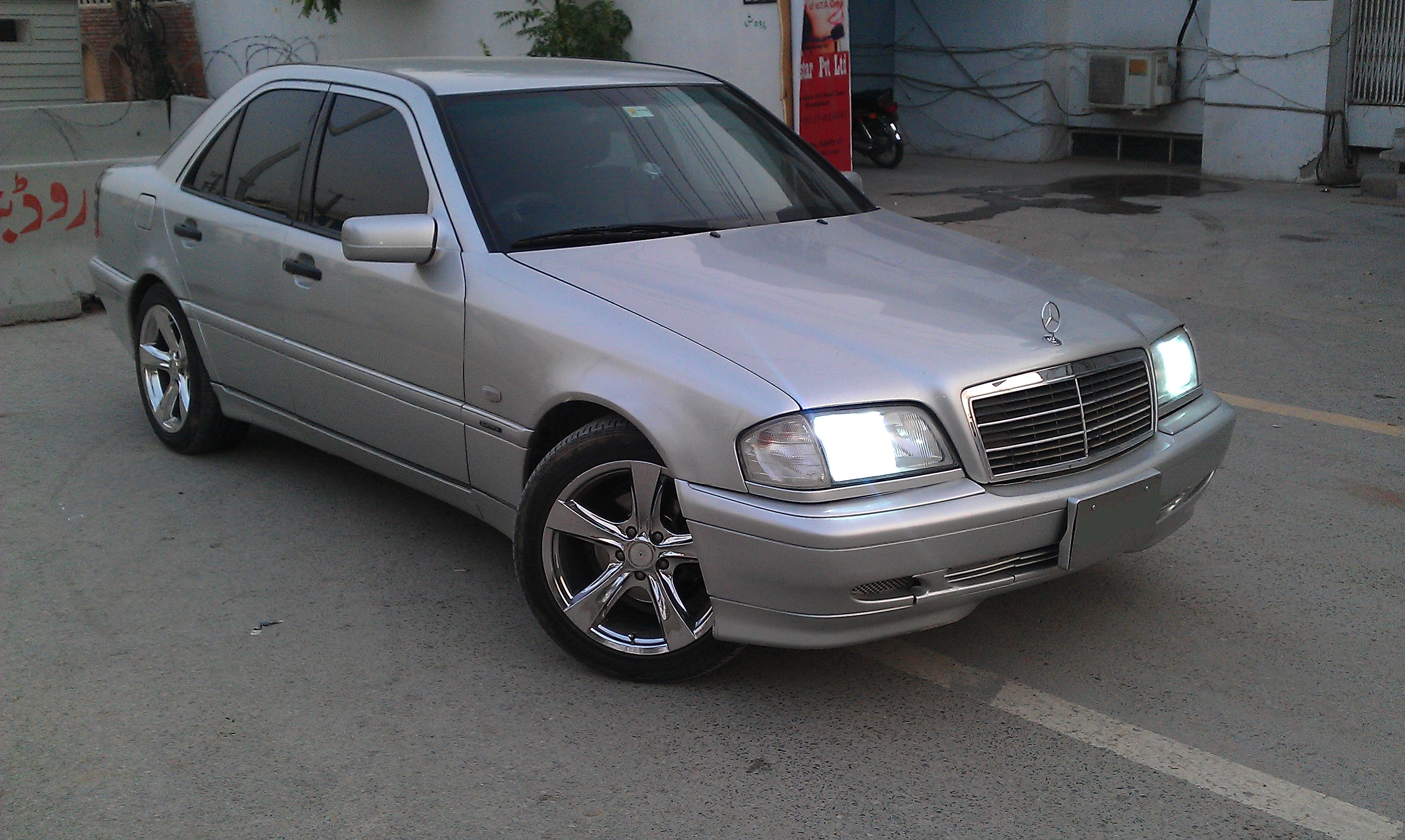 mercedes benz c class 1999 of nabdead member ride 12570 pakwheels. Black Bedroom Furniture Sets. Home Design Ideas