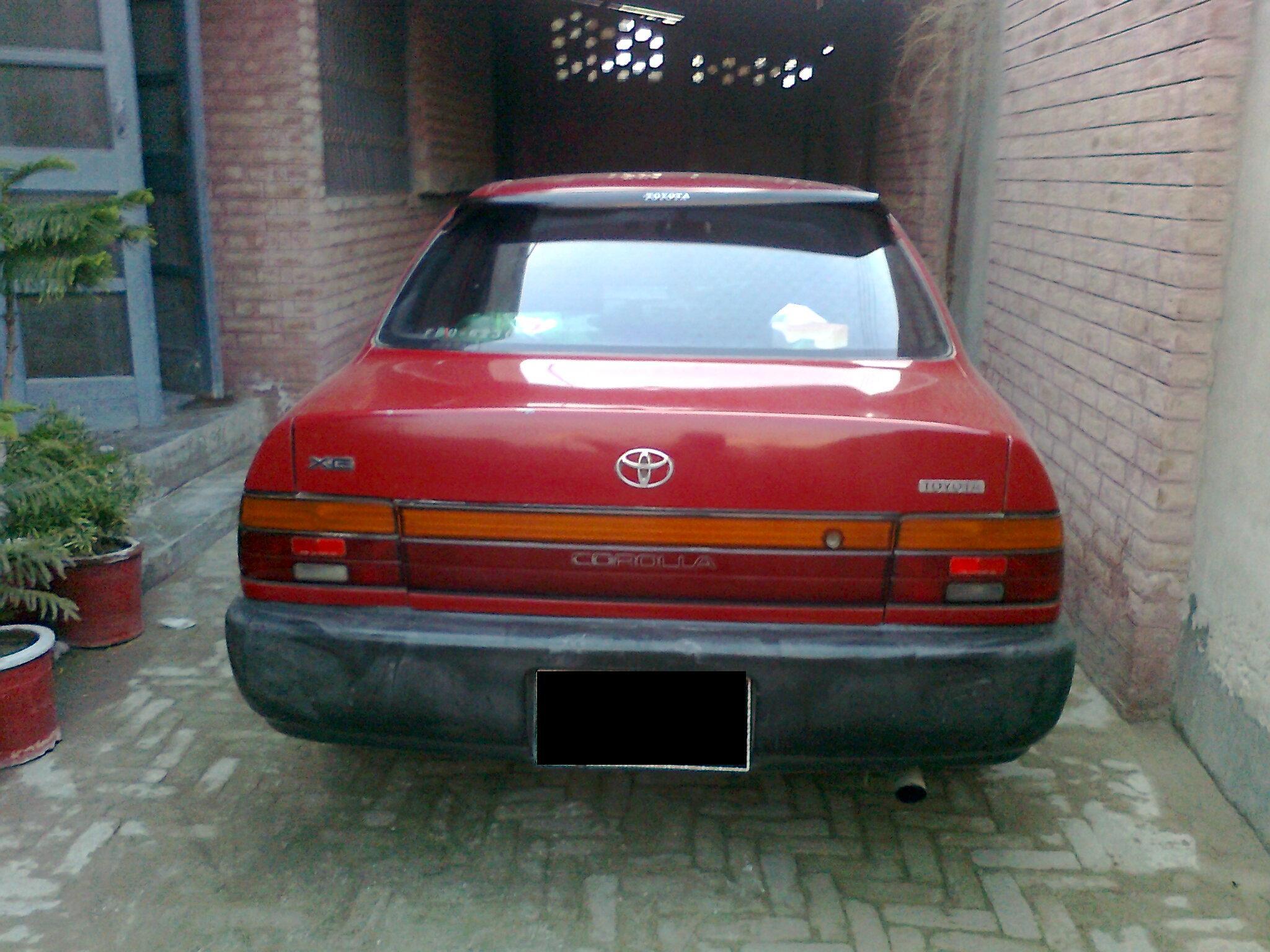 Kekurangan Toyota Corolla 1993 Spesifikasi