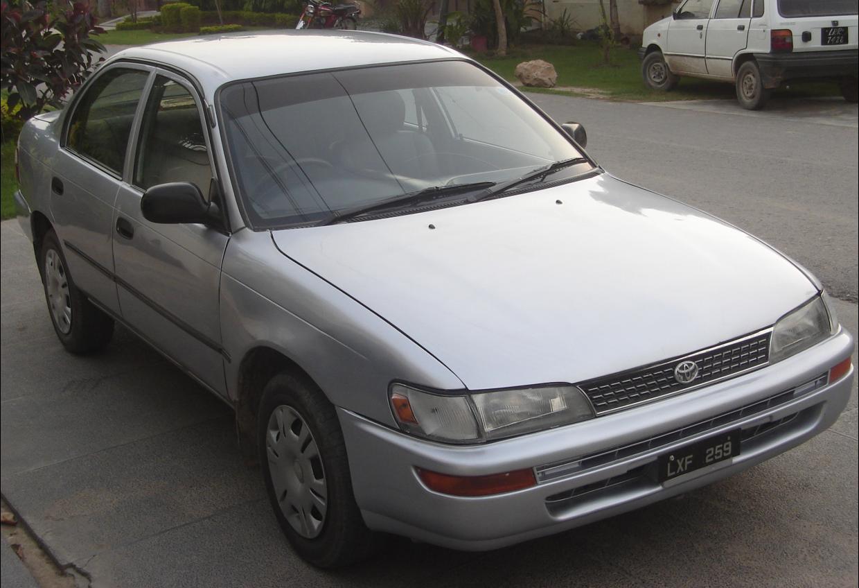 Toyota Corolla 1998 Of Xavar1000 Member Ride 15836