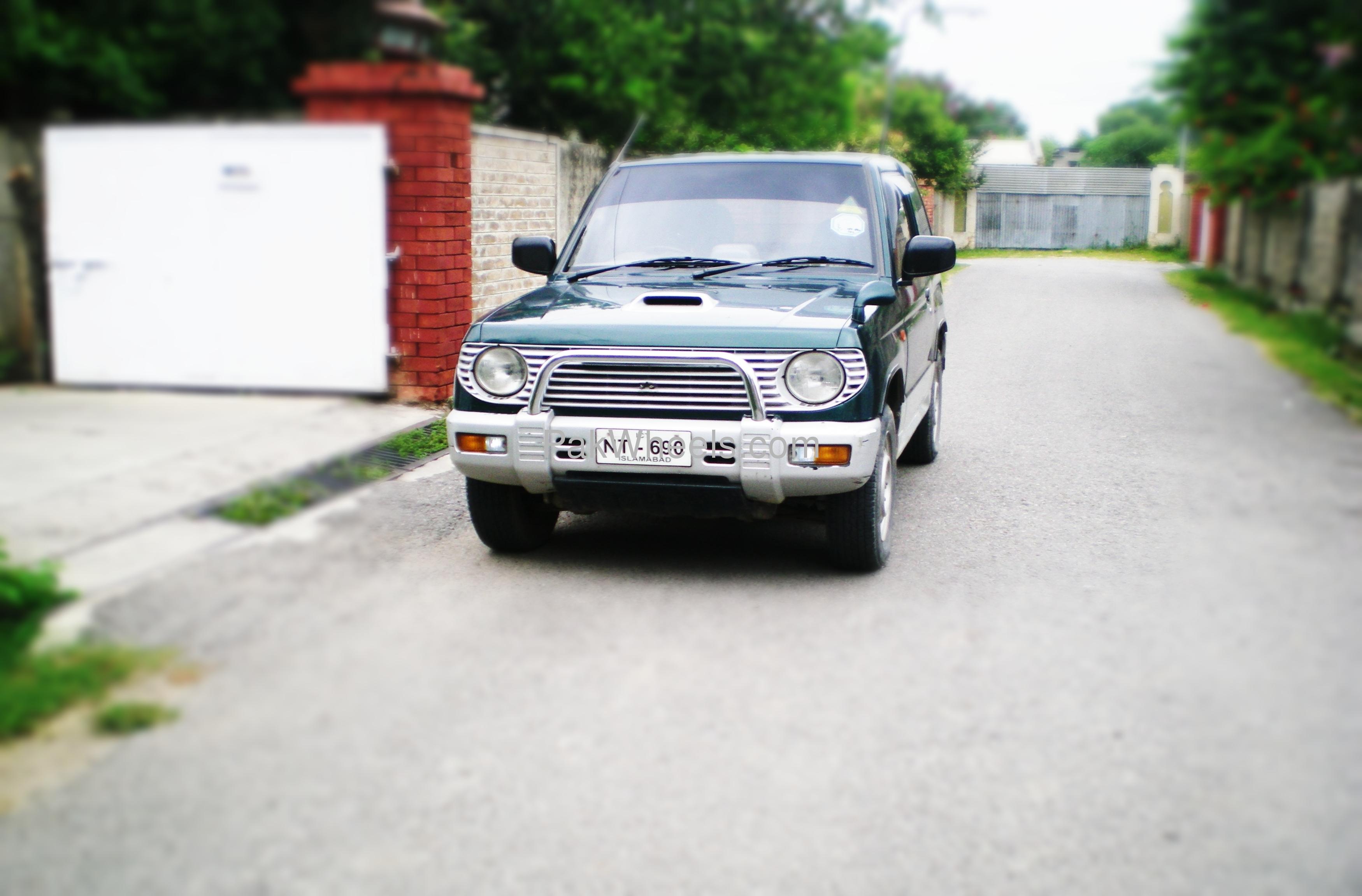 Mitsubishi Pajero Mini - 1995 Pajero Image-1