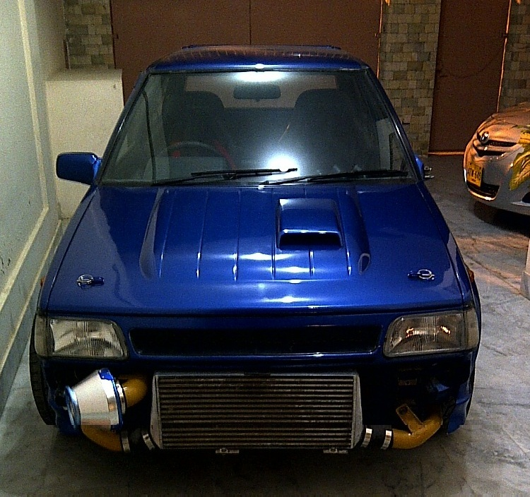 Toyota Starlet - 1989 Blue Streak Image-1