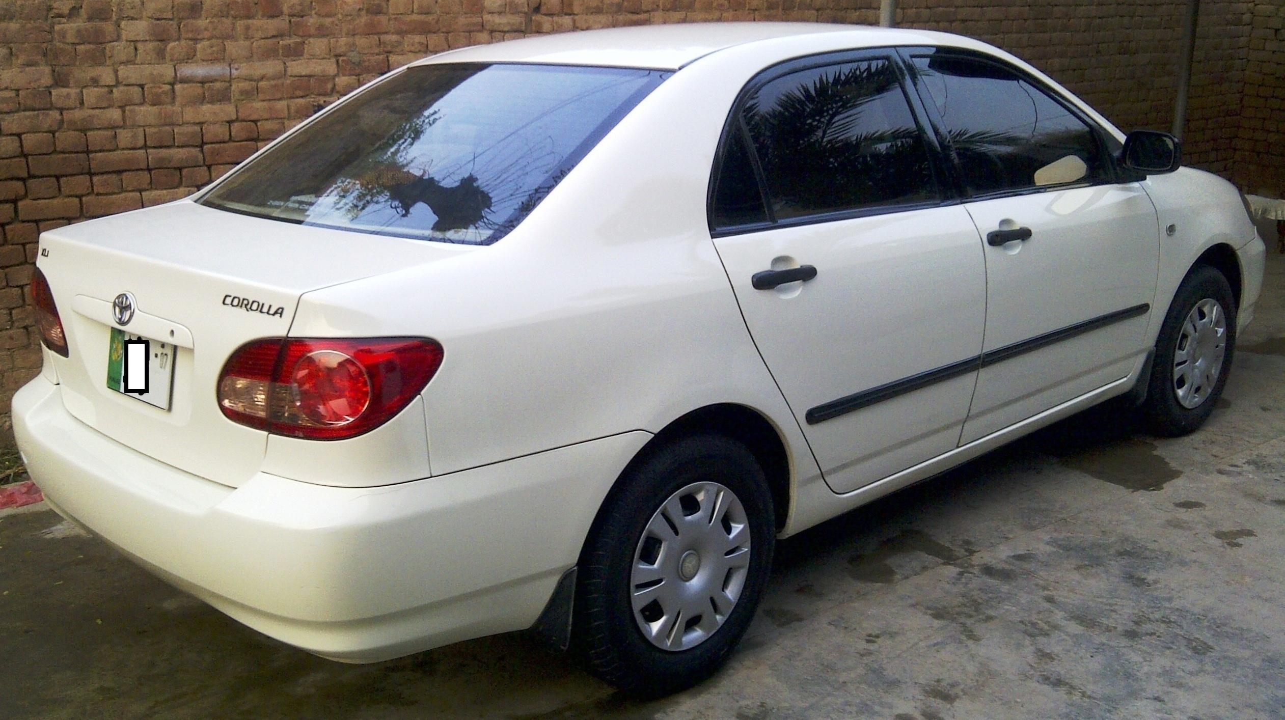 used toyota corolla xli 2006 car for sale in jhelum 332623 pakwheels. Black Bedroom Furniture Sets. Home Design Ideas