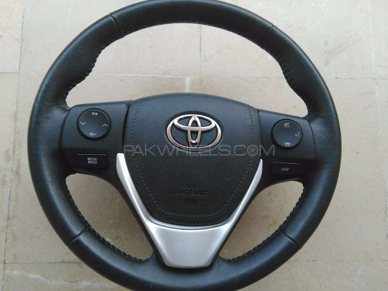 Toyota Corolla Altis,Xli,Gli,Axio Multimedia Leather wheel Image-1