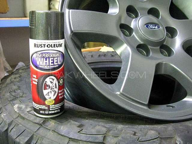 paint your rims with rustoleum wheel spray for sale in islamabad car. Black Bedroom Furniture Sets. Home Design Ideas