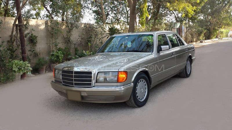 Mercedes Benz S Class 300sel 1987 For Sale In Karachi