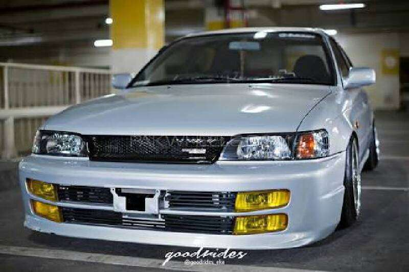 Toyota Corolla 1994 Front Double Foglights Bumper For Sell Image-1