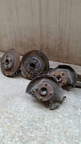 Toyota Indus Corolla Back Hubs For Sell Image-1