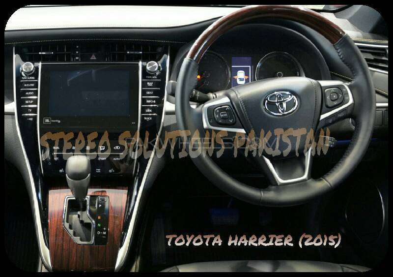 TOYOTA HARRIER (2015) LANGUAGE SOLUTION. . . Image-1