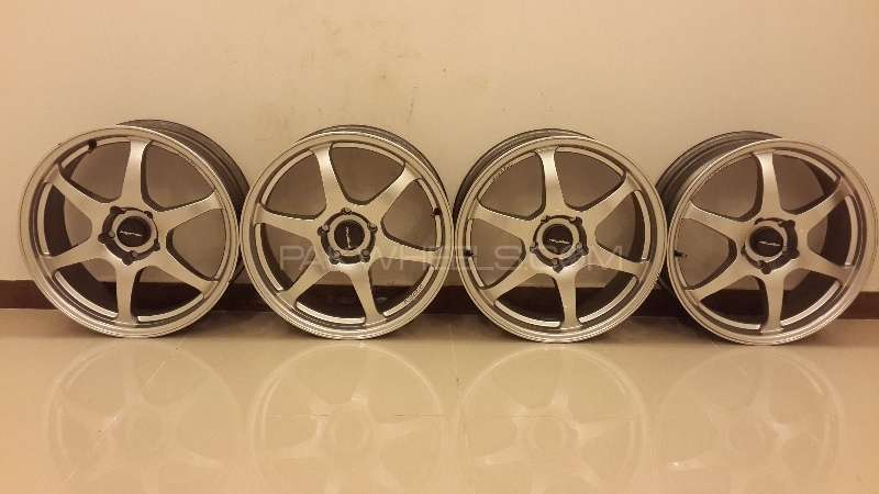 Lenso Alloy Rims 17 Thailand almost new  Image-1