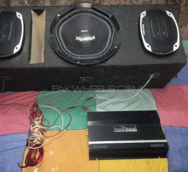 pioneer speakers sony xplod and rockmars amplifier cheap for sale in peshawar parts pakwheels. Black Bedroom Furniture Sets. Home Design Ideas