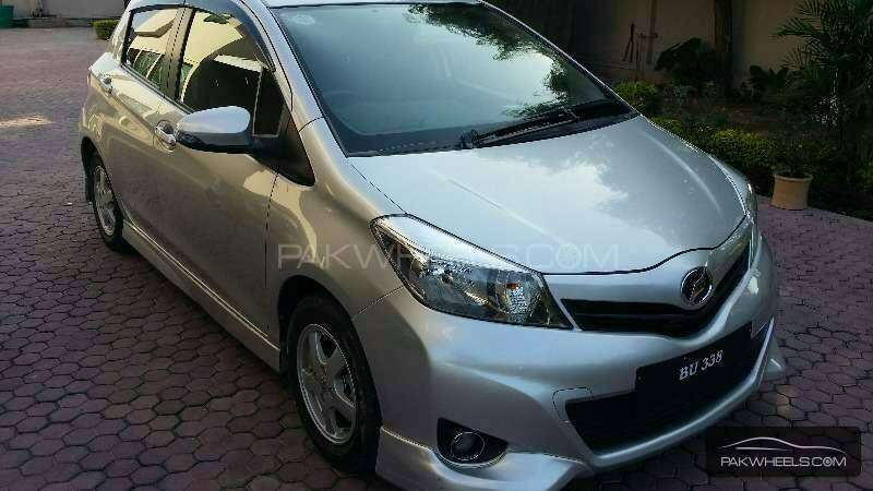 toyota vitz 2012 to 2014 body kit at very reasonable price Image-1