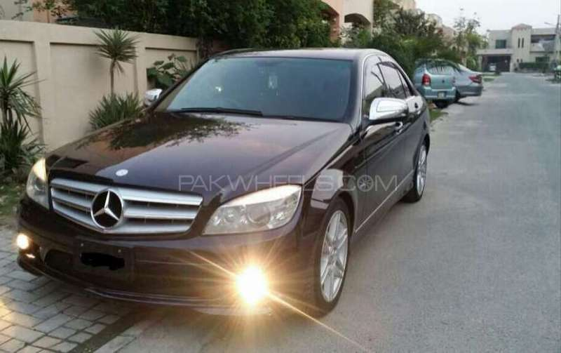 mercedes benz c class c200 cdi 2008 for sale in lahore pakwheels. Black Bedroom Furniture Sets. Home Design Ideas