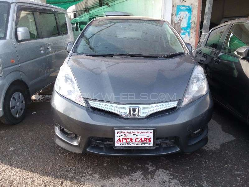 Honda Fit Hybrid Navi Premium Selection 2012 Image-1