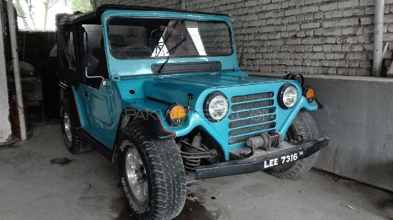 Jeep M 151 Standard 1987 Image-1