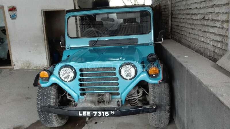 Jeep M 151 Standard 1987 Image-9