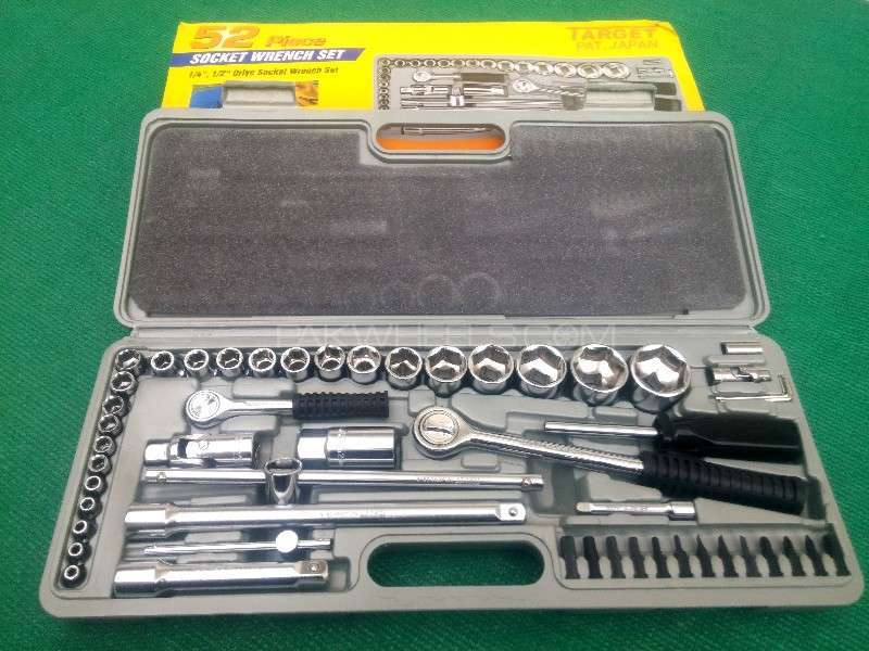 Brand New Original Japanese 52 Piece Tool kit Socket Wrench Set Image-1