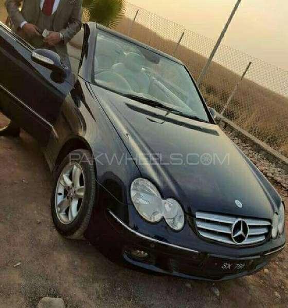 Mercedes Benz CLK Class CLK200 Kompressor Cabriolet 2006 Image-1