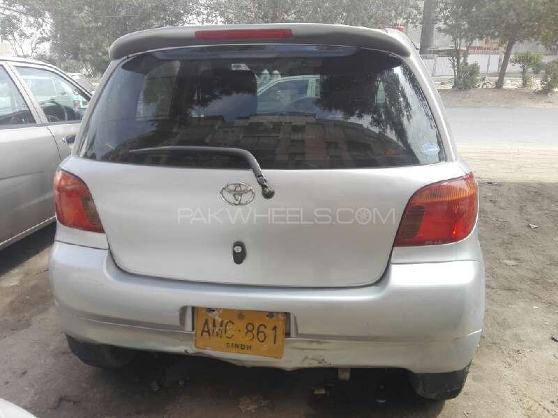 Toyota Vitz F 1.0 2003 Image-5