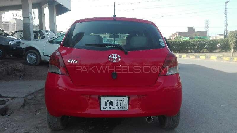 Toyota Vitz F 1.0 2007 Image-4