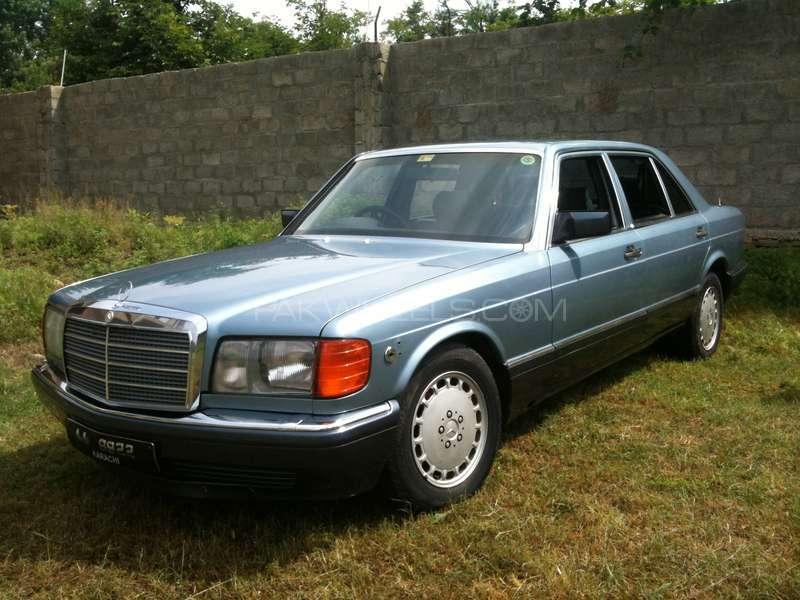 Mercedes benz s class 300sel 1989 for sale in peshawar for Used mercedes benz rims for sale