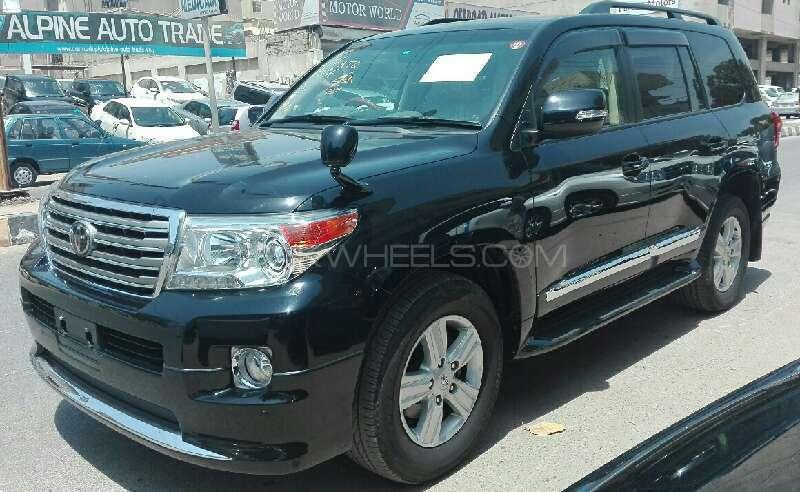 Toyota Land Cruiser AX G Selection 2012 Image-3