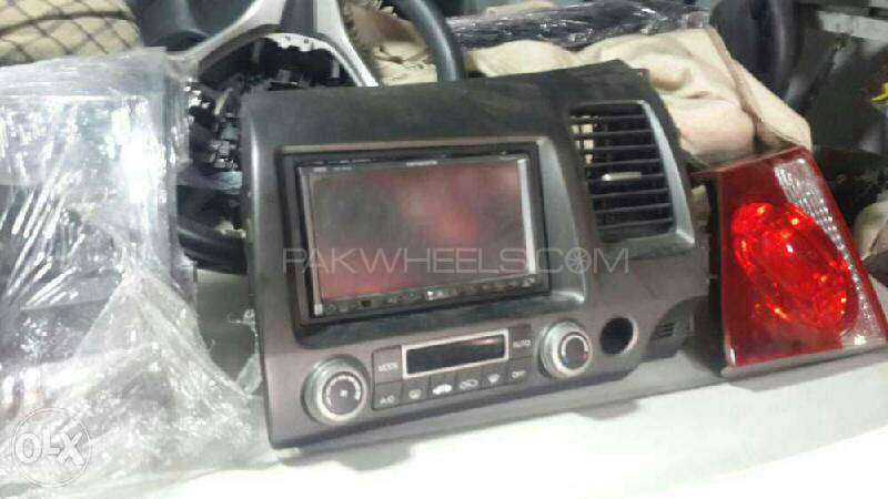Honda Civic Reborn Japnese DVD Screen AC Pannel For Sell Image-1