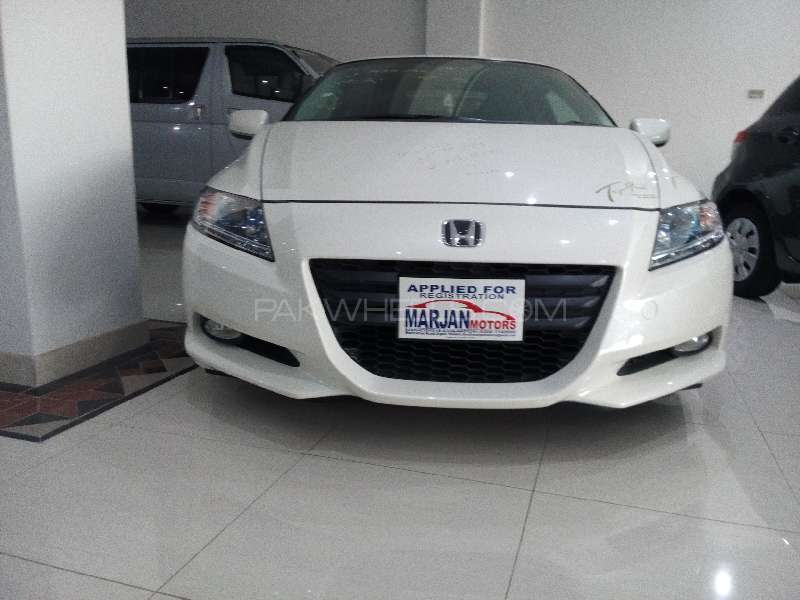 Honda CR-Z Sports Hybrid Alpha 2012 Image-4