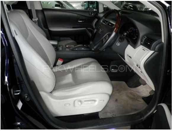 Lexus RX Series 450H 2011 Image-4