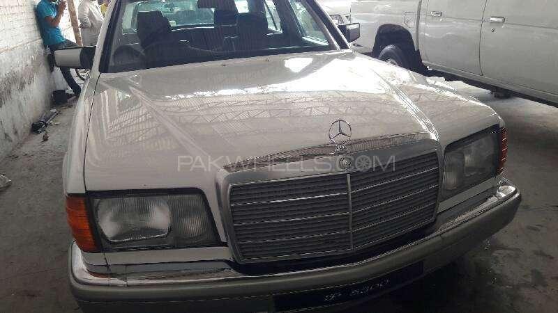 Mercedes Benz S Class 300SE 1988 Image-1
