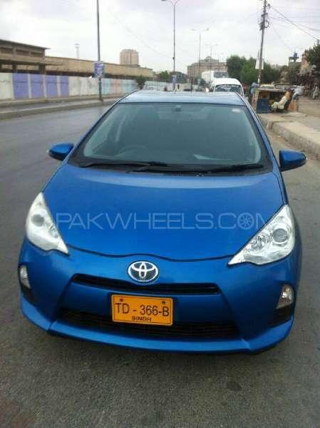 Toyota Aqua S 2013 Image-4