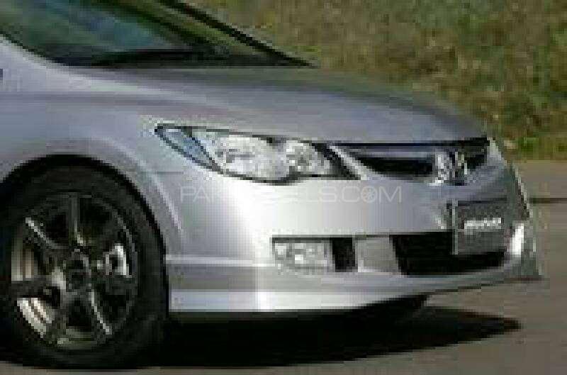 Honda Civic OEM modulo body extensions Image-1