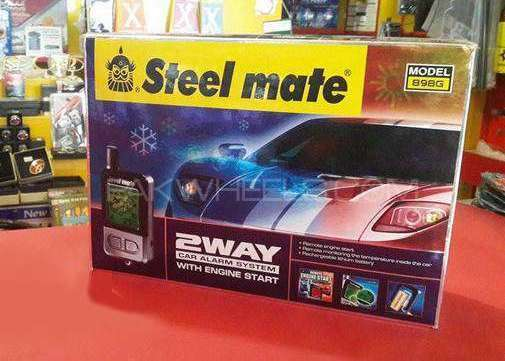 Steelmate 2way Car Alarm With Engine Starter Image-1