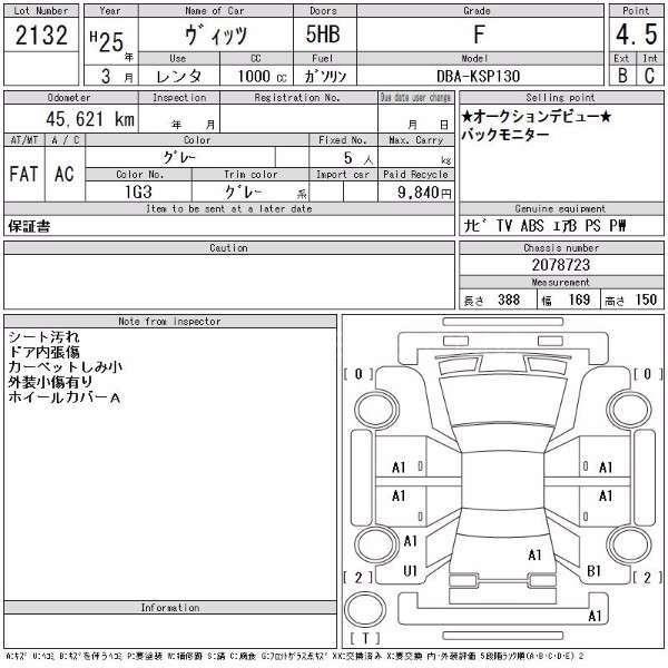 Toyota Vitz F Limited 1.0 2013 Image-14