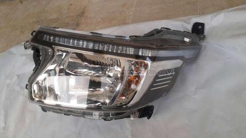 Honda N WGN left headlight Image-1