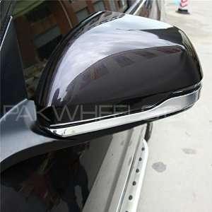 Vesul Chrome Side Mirror Cover Protector Trim 2pcs For Honda Image-1