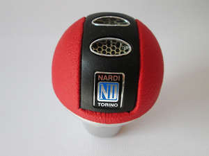 Gear Knob - ND Red & Black in Lahore