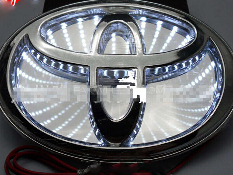 Auto Badge Lamp Toyota - 3D Image-1