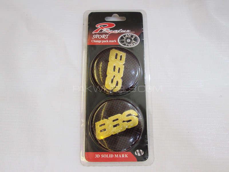 Wheel Caps Emblem - BBS Image-1