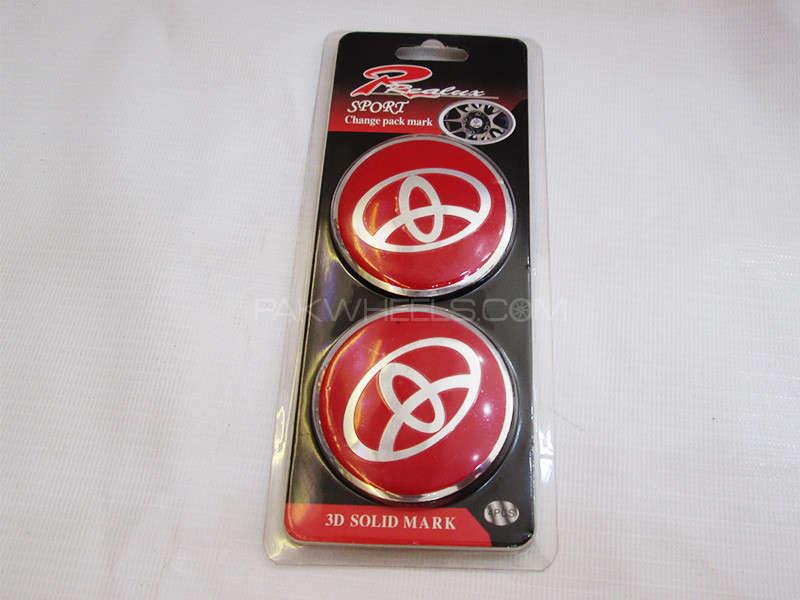 Wheel Caps Emblem - Toyota  Image-1